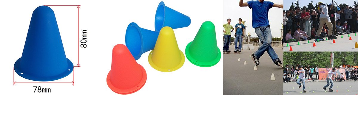 Conical Shape Roller Skating Marker Cone TC003