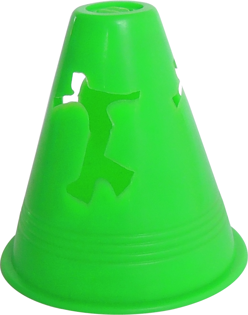 Conical Shape Roller Skating Marker Cone with Human Figure TC005